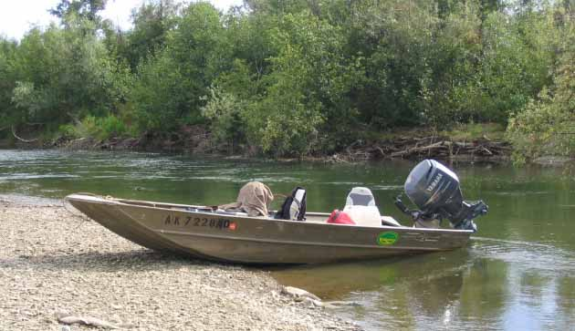 Aluminum river boat plans soke for Best river fishing boat